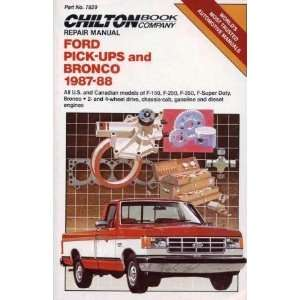 Chassis Cab, Gasoline and Diesel Engines (Chilton Repair Manual