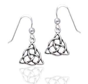 Small Celtic Triquetra Knot or Holy Trinity Symbol Dangle