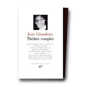 (Bibliotheque de la Pleiade) (9780785931591): Jean Giraudoux: Books