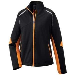Ash City Ladies Dynamo Hybrid Performance Soft Shell Jacket  Black