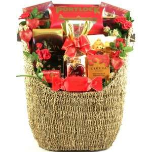 Forget Me Not, Signature Valentines Day Gift Basket