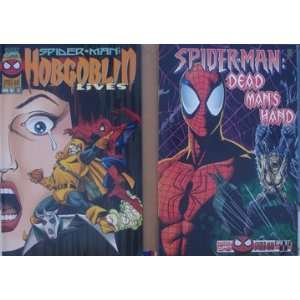 Spider Man Comic Books (2) Different Dead Man`s Hand #1 & Hobgoblin