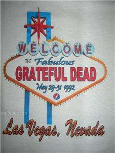 Grateful Dead T Shirt > VTG Style 1992 > Las Vegas, NV
