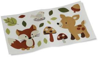 Carter s Forest Friends Wall Decals Tan/Choc 789887504244