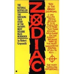 Zodiac (Paperback) Robert Graysmith (Author) Books