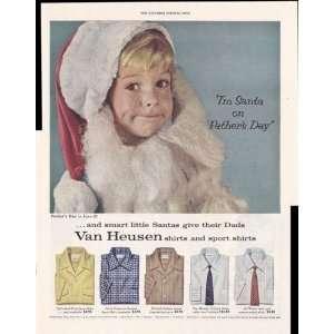 Van Heusen Shirts And Sport Shirts Mens Clothing 1953 Original Vintage