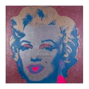 Andy Warhol 26W by 26H  Marilyn Monroe (Marilyn), 1967 (silver