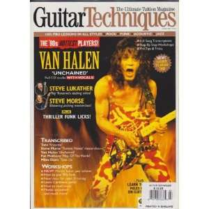Guitar Techniques Magazine (March 2003) (Van Halen   The