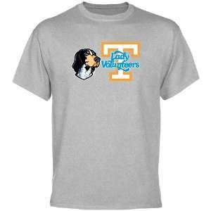 UT Vol Tee Shirt : Tennessee Lady Vols Ash Smokey T Shirt
