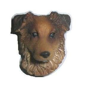 Australian Shepherd   Dog Figurine Pin / Tie Tack