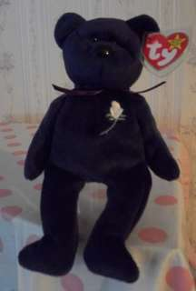 Ty Beanie Baby~PRINCESS DIANA Bear~2nd Edition ULTRA RARE!~Indonesia