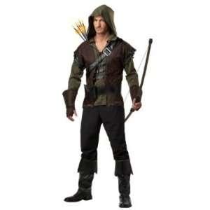 Adult Robin Hood Costume Size Large (42 44) Everything