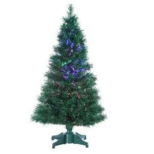 Color Changing Fiber Optic Artificial Christmas Tree