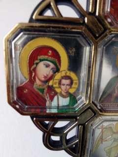 ICONOSTASIS Holy Mary Trinity Jesus Guardian Angel Nicholas Icons