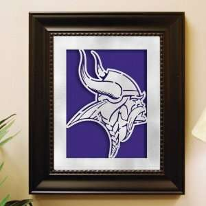 Minnesota Vikings Laser Cut Logo Wall Art Sports
