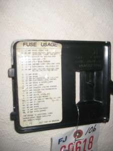 108926699_interior fuse panelbox dash cover olds 88 1992 1993 1994 oldsmobile 88 fuse box diagram wiring diagram simonand fuse box oldsmobile 88 at fashall.co