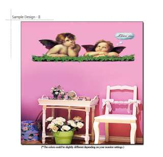 ANGELS Home Art Deco Mural Point Sticker DIY Wall Paper
