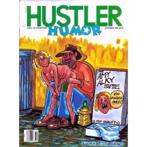 : HUSTLER HUMOR 11 87 (NOVEMBER 1987): HUSTLER HUMOR MAGAZINE: Books