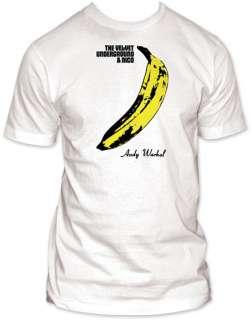 Velvet Underground   Banana   X Large T Shirt
