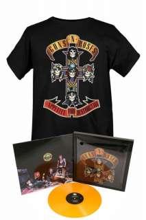 Guns N Roses Appetite for Destruction Record & T Shirt