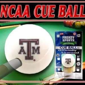 Texas A&M Aggies NCAA Logo Cue Ball
