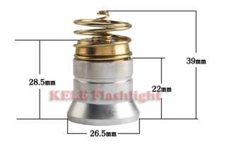 CREE Red Light LED Bulb For Ultrafire 501B Flashlight