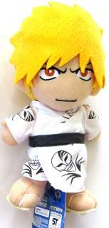 Bleach 8 Ichigo Wearing Yukata Plush Manga Anime MINT
