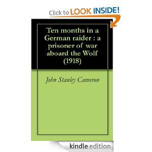 war aboard the Wolf (1918) eBook John Stanley Cameron Kindle Store