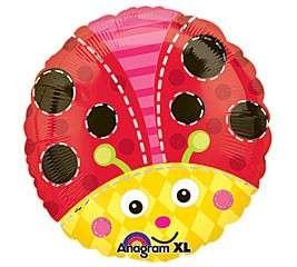 LADYBUG Lady Bugs Mylar BALLOON BIRTHDAY PARTY 18