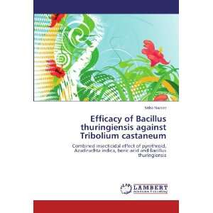 Efficacy of Bacillus thuringiensis against Tribolium