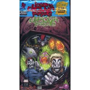 ICP INSANE CLOWN POSSE THE PENDULUM #12 COMIC WITH CD