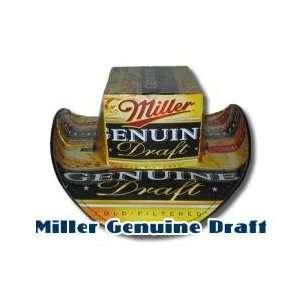 Licensed Miller Genuine Draft Box Top Style Beer Hat