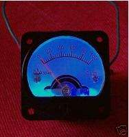 BLUE BACK LIGHT 100mA PANEL METER FOR TUBE AMPLIFIER