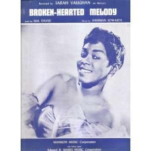 Sheet Music Broken Hearted Melody Sarah Vaughn 196