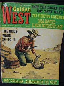 Vintage Golden West Magazine September 1969 TRUE STORIE