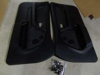 E36 318TI BLACK FRONT DOOR PANELS EXCELLENT CONDITION HATCHBACK