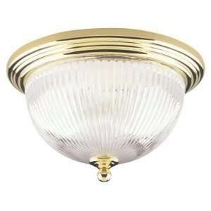 Polished Brass Ceiling Flush Mount Light Fixture Home Improvement