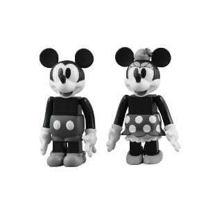 Mickey & Minnie Mouse Kubrick Figure Set Disney NEW