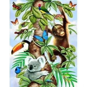 Tree of Life Jigsaw Puzzle 35pc Toys & Games