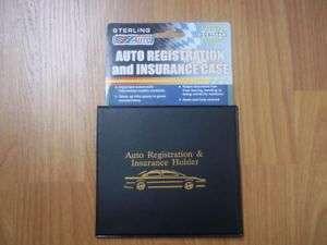 CAR TRUCK REGISTRATION & INSURANCE CASE HOLDER WALLET