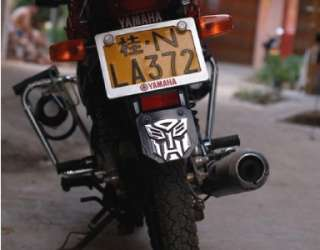 Transformers AUTOBOT Decal sticker car Emblem badge