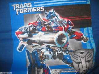 Transformer Pillow panel Optimus Prime or Decepticon