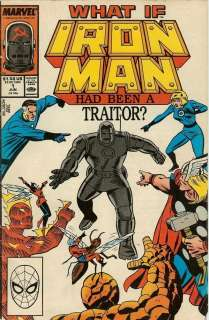 Special #1 Comic Book June 1988 Iron Man Had Been A Traitor Copper Age