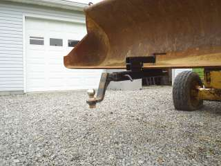 Clamp on Trailer Hitch Receiver Skid Steer Tractor
