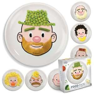 Plate Fun Play Dish Toy Art Eat Dinner Game !!: Office Products