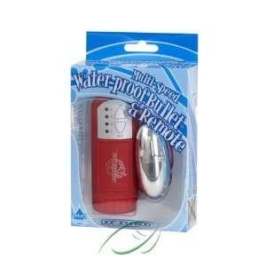 Velvet Touch Red W/silver Bullet, From Doc Johnson Health