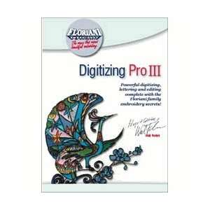 Floriani Digitizing Pro III Embroidery Software Camera & Photo