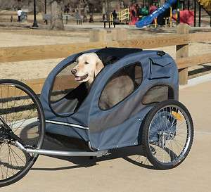 Bike Pet Trailer Big Dog Deluxe Track'r Cart BICYCLE folding CARRIER