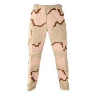 BDU Pants   Trousers Tri Color Desert Camouflage; Size