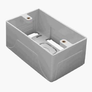 Single Gang Wall Mount Surface Mount Box, Fits Any